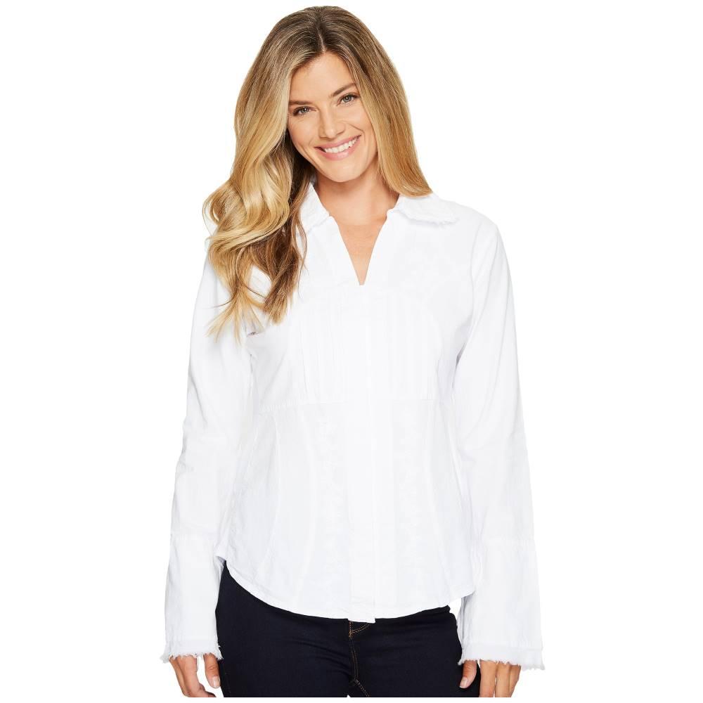 スカーリー レディース トップス【Cantina Yadira Peruvian Cotton Top】White