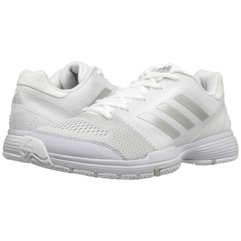 アディダス レディース シューズ・靴 スニーカー【Barricade Club】Footwear White/Silver Metallic/Core Pink