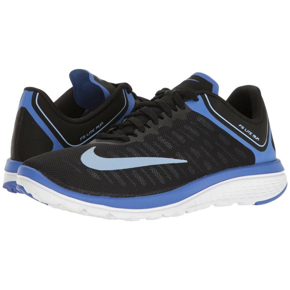 ナイキ レディース シューズ・靴 スニーカー【FS Lite Run 4】Black/Aluminum/Medium Blue/White