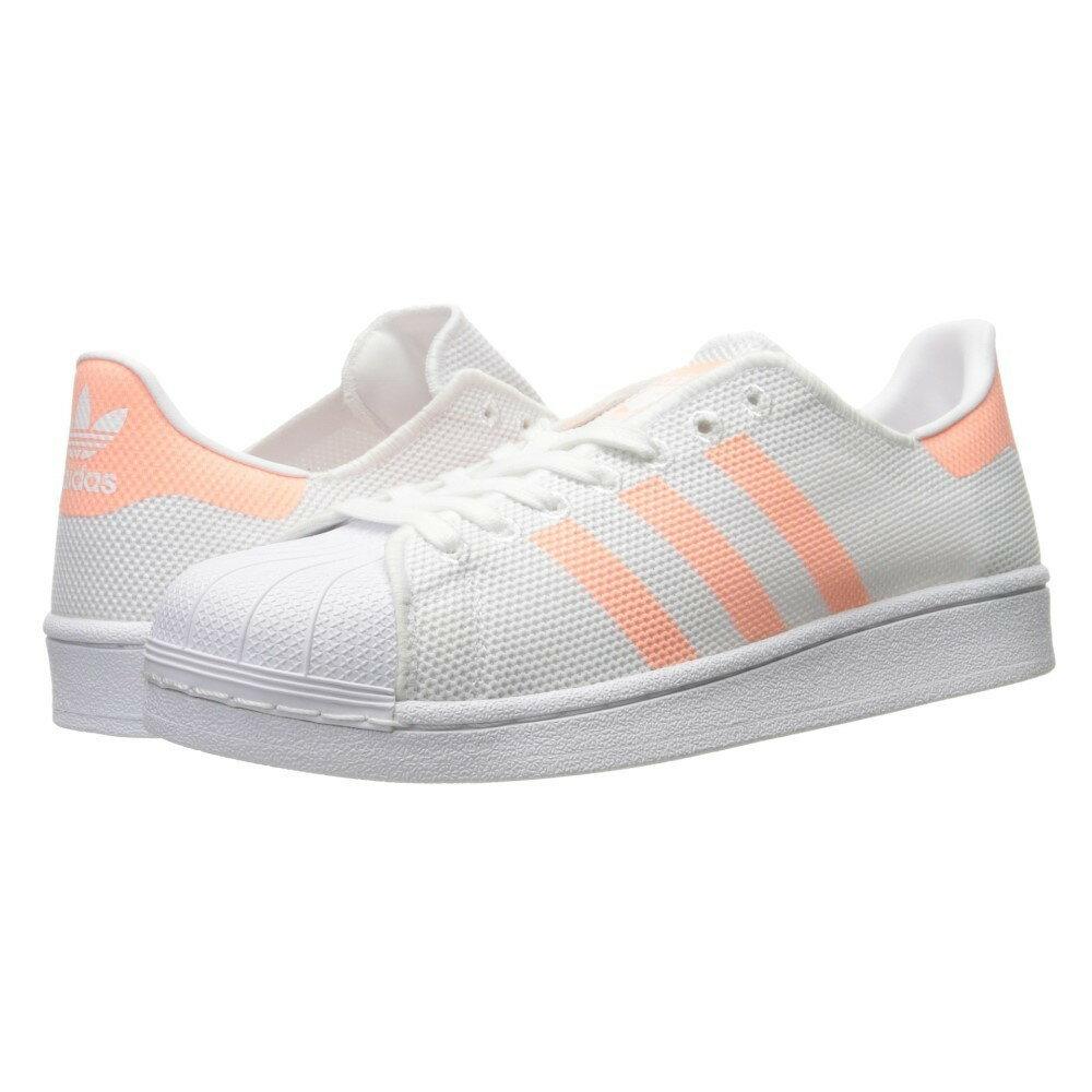 アディダス レディース シューズ・靴 スニーカー【Superstar】Footwear White/Sun Glow S16/Footwear White