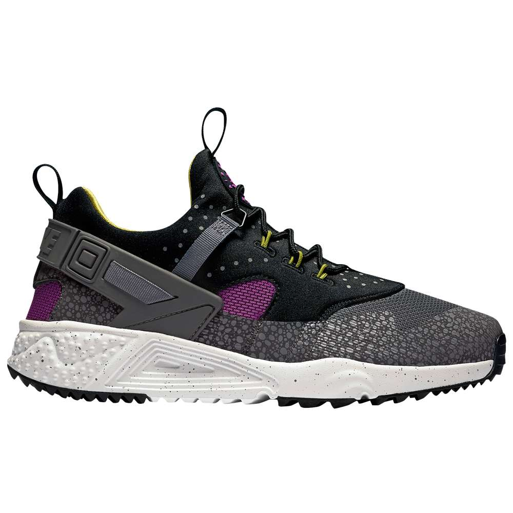 ナイキ メンズ シューズ・靴 スニーカー【Nike Air Huarache Utility】Medium Berry/Black/Cactus/Dark Grey