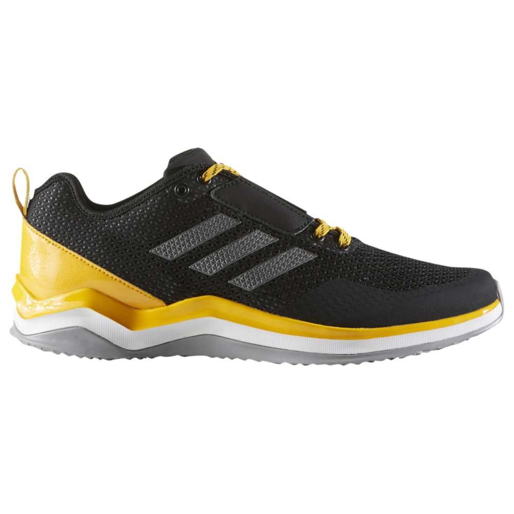 アディダス メンズ 野球 シューズ・靴【adidas Speed Trainer 3.0】Black/Iron Metallic/Collegiate Gold
