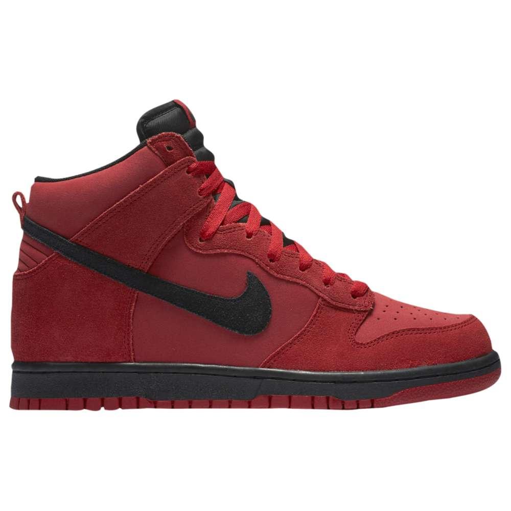 ナイキ メンズ シューズ・靴 スニーカー【Nike Dunk Hi】Gym Red/Black
