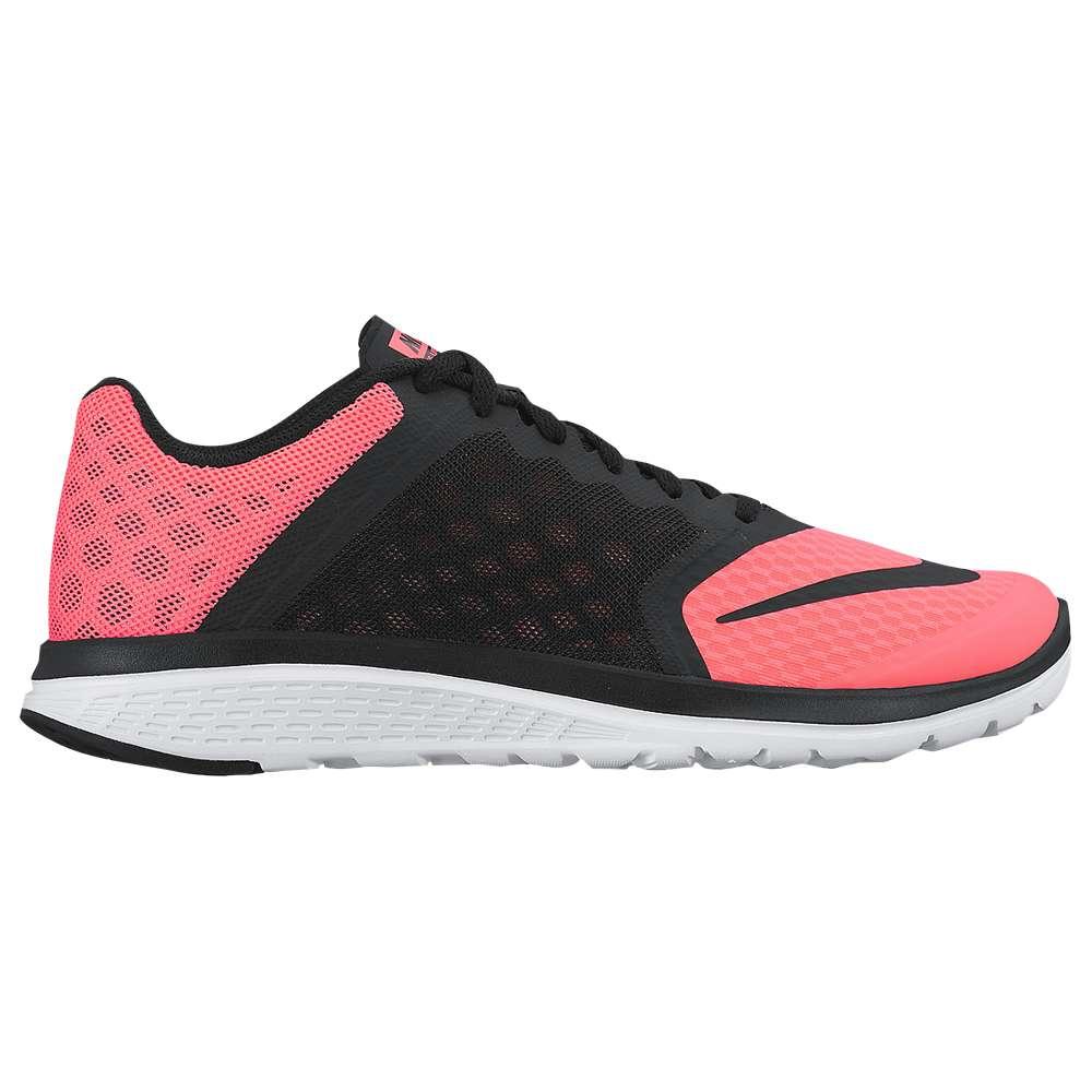 ナイキ レディース ランニング・ウォーキング シューズ・靴【Nike FS Lite Run 3】Lava Glow/White/Black