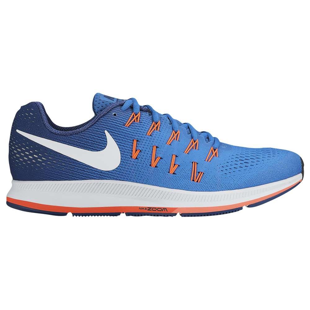 ナイキ メンズ ランニング・ウォーキング シューズ・靴【Nike Air Zoom Pegasus 33】Star Blue/Coastal Blue/Bright Mango/White