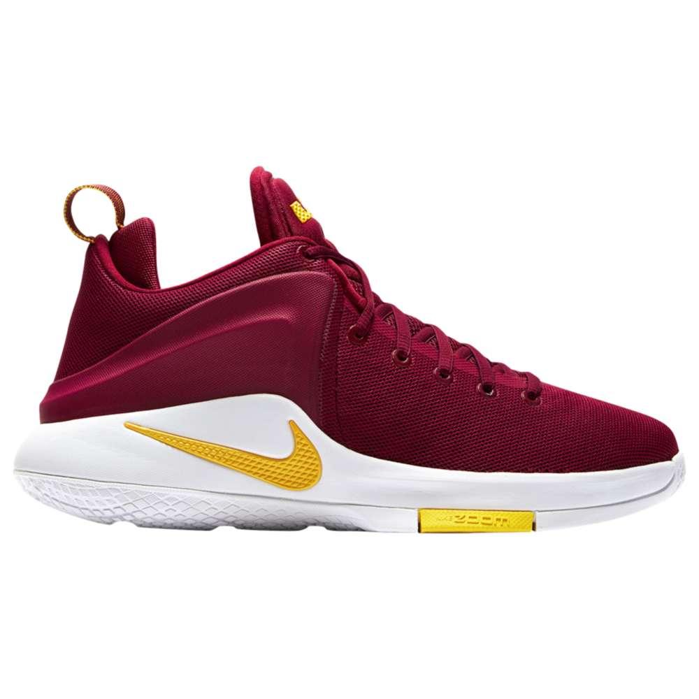 ナイキ メンズ バスケットボール シューズ・靴【Nike Zoom Witness】Team Red/University Gold/White