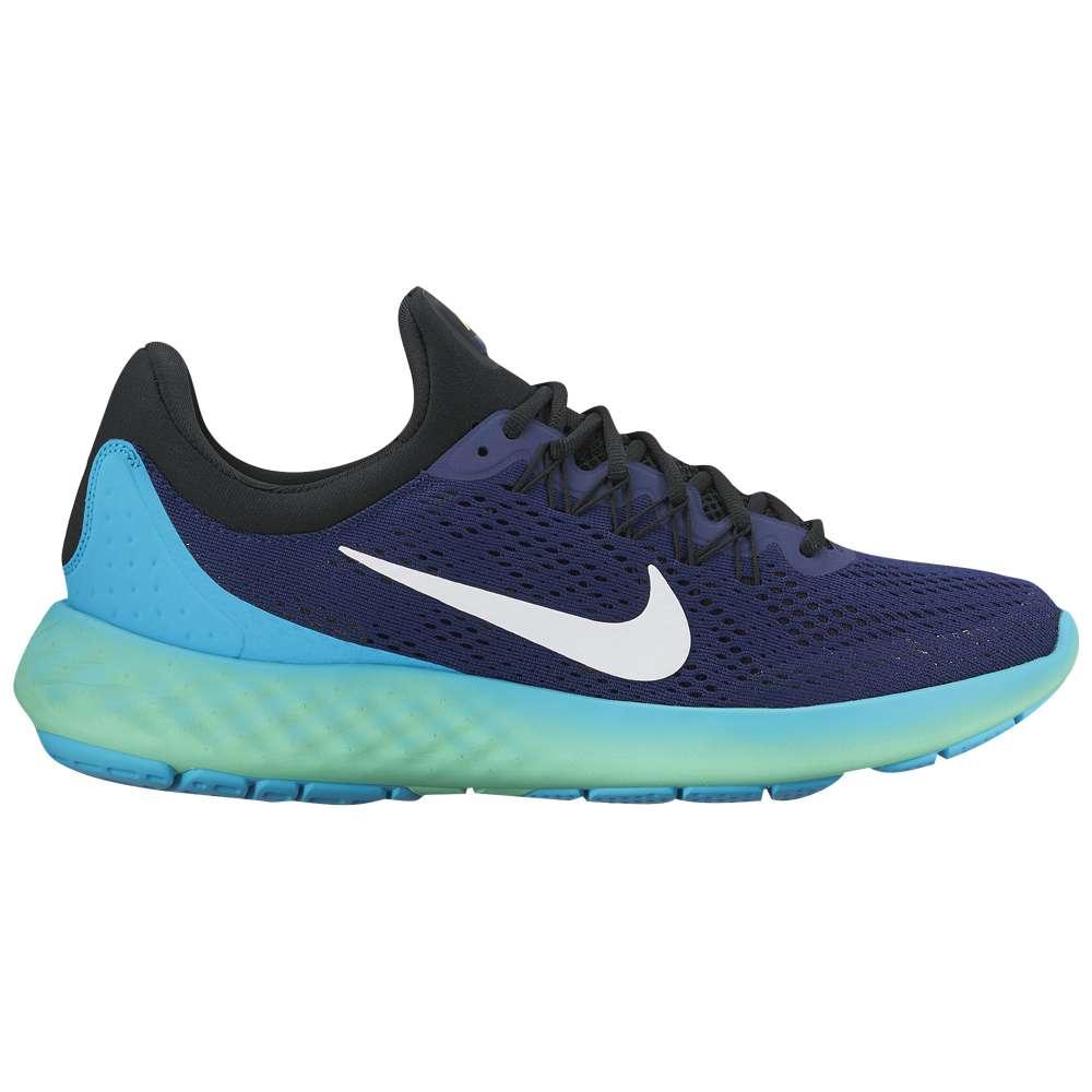 ナイキ メンズ ランニング・ウォーキング シューズ・靴【Nike Lunar Skyelux】Loyal Blue/Black/Green Glow/White