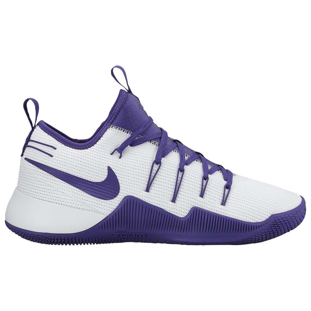 ナイキ メンズ バスケットボール シューズ・靴【Nike Hypershift】White/Court Purple