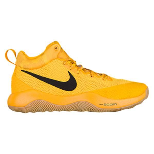 ナイキ メンズ バスケットボール シューズ・靴【Nike Zoom Rev】Tour Yellow/Black/Gum/Volt