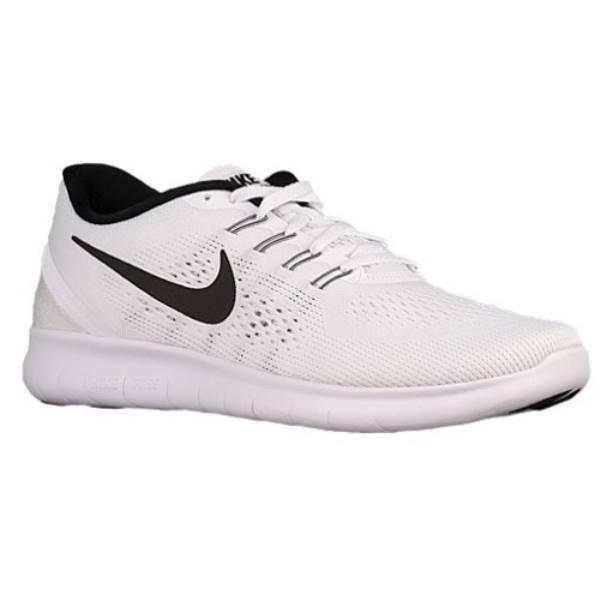 ナイキ メンズ ランニング・ウォーキング シューズ・靴【Nike Free RN】White/Black