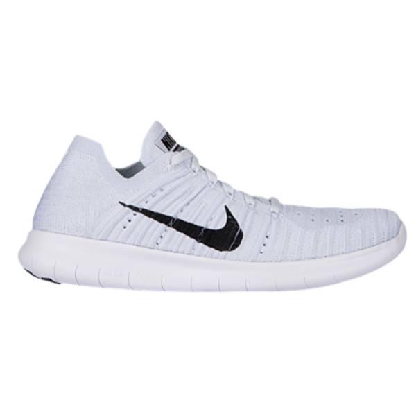 ナイキ レディース ランニング・ウォーキング シューズ・靴【Nike Free RN Flyknit】White/Pure Platinum/Black