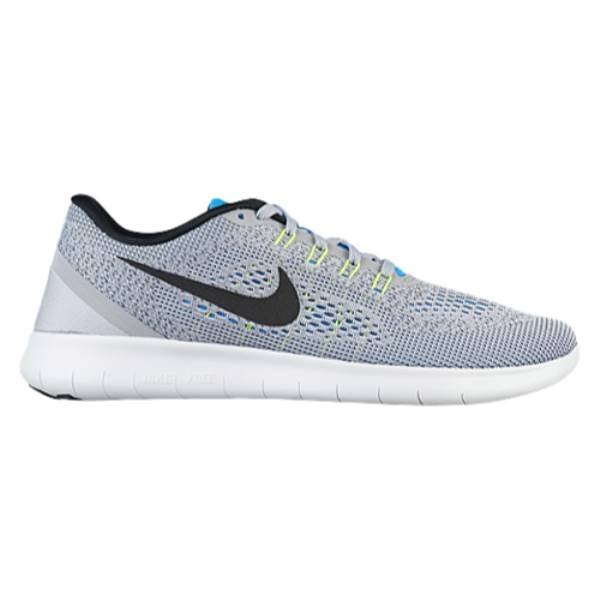 ナイキ メンズ ランニング・ウォーキング シューズ・靴【Nike Free RN】Wolf Grey/Blue Glow/Volt/Black