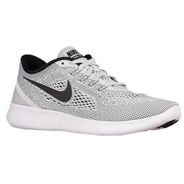 ナイキ メンズ ランニング・ウォーキング シューズ・靴【Nike Free RN】White/Pure Platinum/Black
