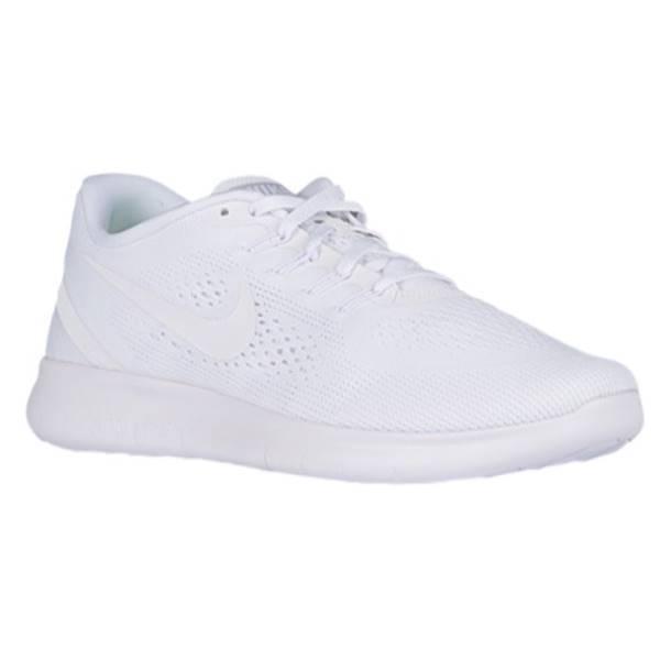 ナイキ メンズ ランニング・ウォーキング シューズ・靴【Nike Free RN】White/White