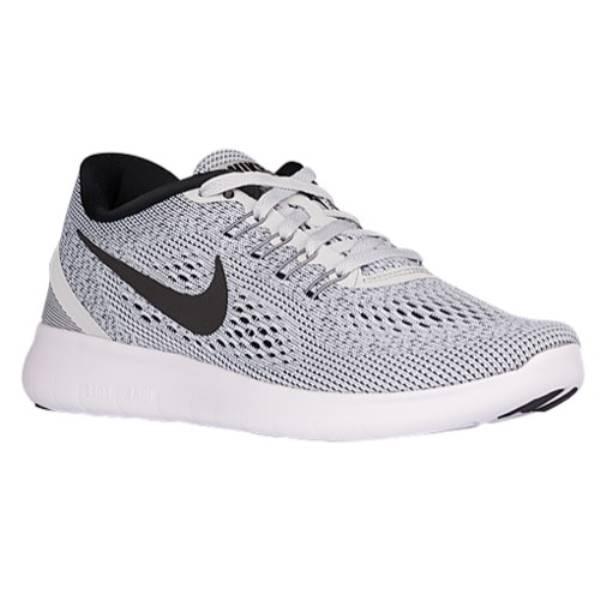 ナイキ レディース ランニング・ウォーキング シューズ・靴【Nike Free RN】White/Pure Platinum/Black