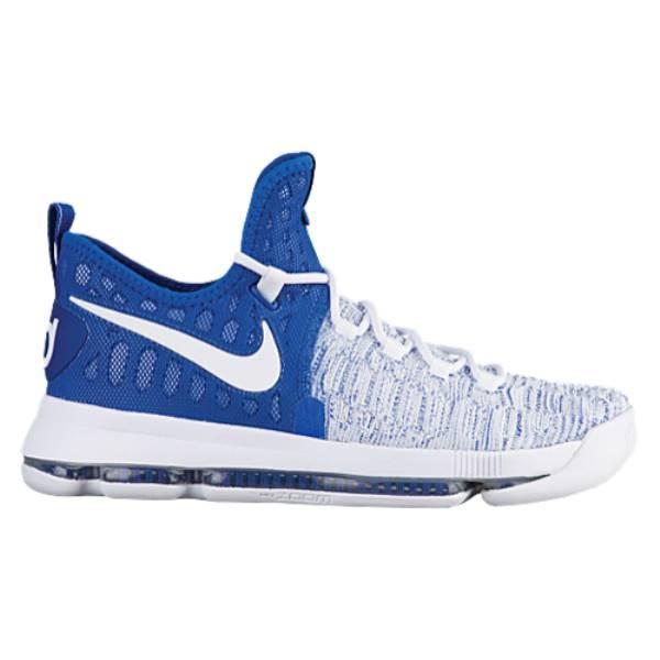 ナイキ メンズ バスケットボール シューズ・靴【Nike KD 9】Game Royal/White