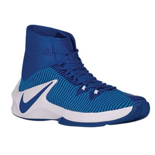 ナイキ メンズ バスケットボール シューズ・靴【Nike Zoom Clear Out】Game Royal/Photo Blue/Metallic Silver