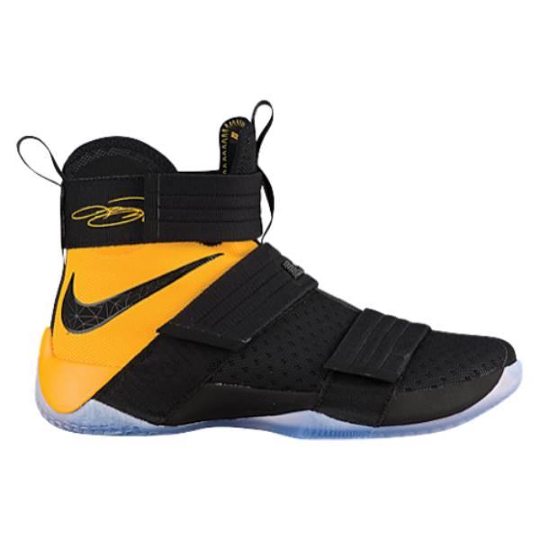 ナイキ メンズ バスケットボール シューズ・靴【Nike LeBron Soldier 10】Black/University Gold
