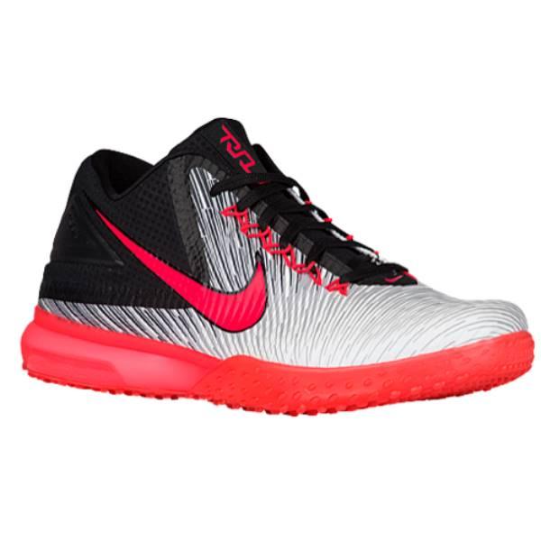 ナイキ メンズ 野球 シューズ・靴【Nike Force Air Zoom Trout 3 Turf】Black/Bright Crimson/White