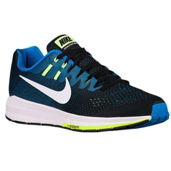 ナイキ メンズ ランニング・ウォーキング シューズ・靴【Nike Air Zoom Structure 20】Black/Photo Blue/Ghost Green/White