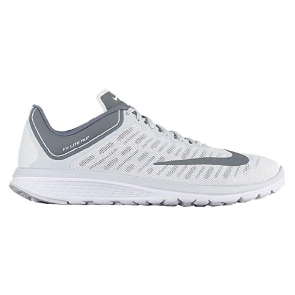 ナイキ メンズ ランニング・ウォーキング シューズ・靴【Nike FS Lite Run 4】White/Cool Grey/Pure Platinum