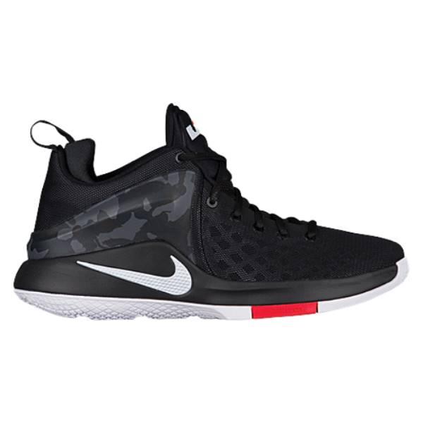 ナイキ メンズ バスケットボール シューズ・靴【Nike Zoom Witness】Black/Anthracite/University Red