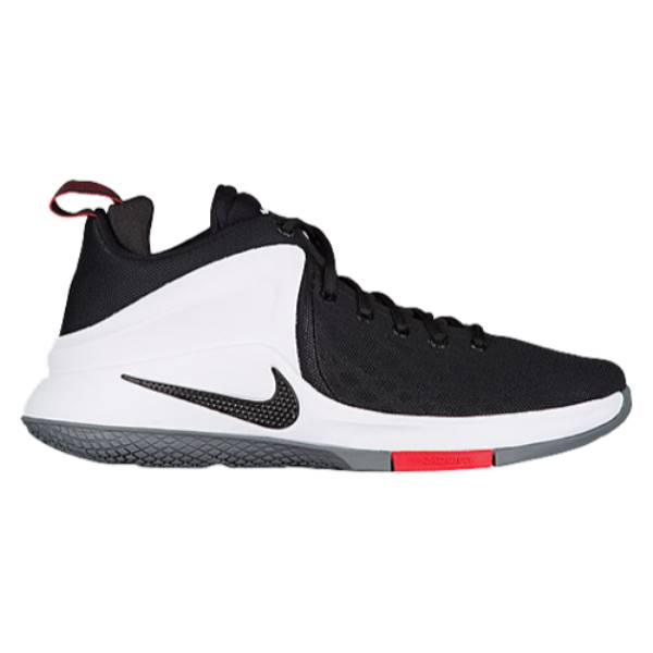 ナイキ メンズ バスケットボール シューズ・靴【Nike Zoom Witness】Black/White/Bright Crimson/Wolf Grey