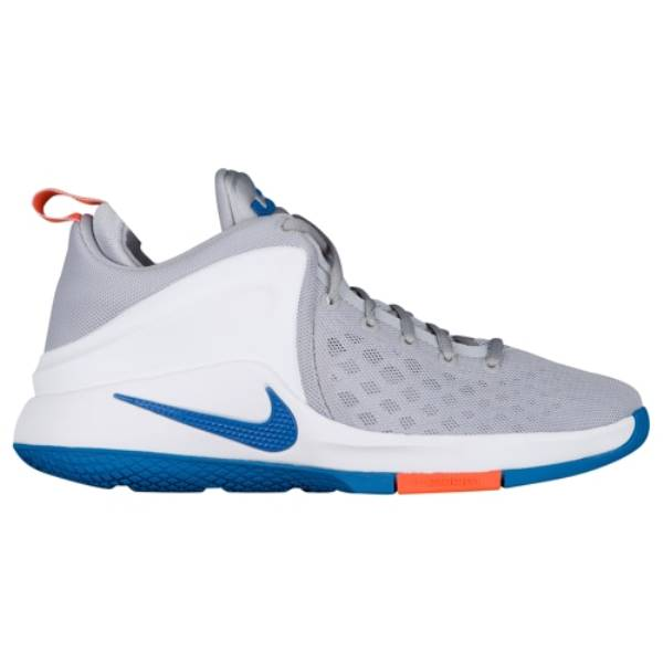 ナイキ メンズ バスケットボール シューズ・靴【Nike Zoom Witness】Pure Platinum/Star Blue/White/Safety Orange