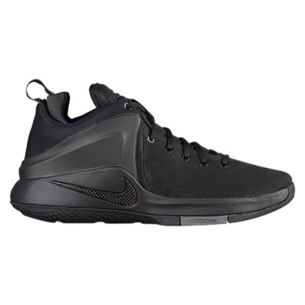 ナイキ メンズ バスケットボール シューズ・靴【Nike Zoom Witness】Black/Dark Grey