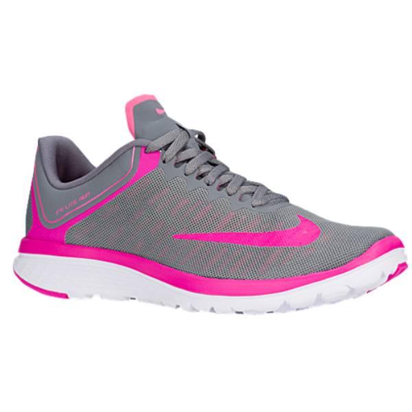 ナイキ レディース ランニング・ウォーキング シューズ・靴【Nike FS Lite Run 4】Cool Grey/Pink Blast/Fire Pink/White