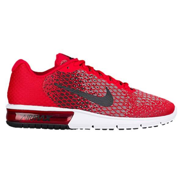 ナイキ メンズ ランニング・ウォーキング シューズ・靴【Nike Air Max Sequent 2】University Red/Black/Cool Grey/Black