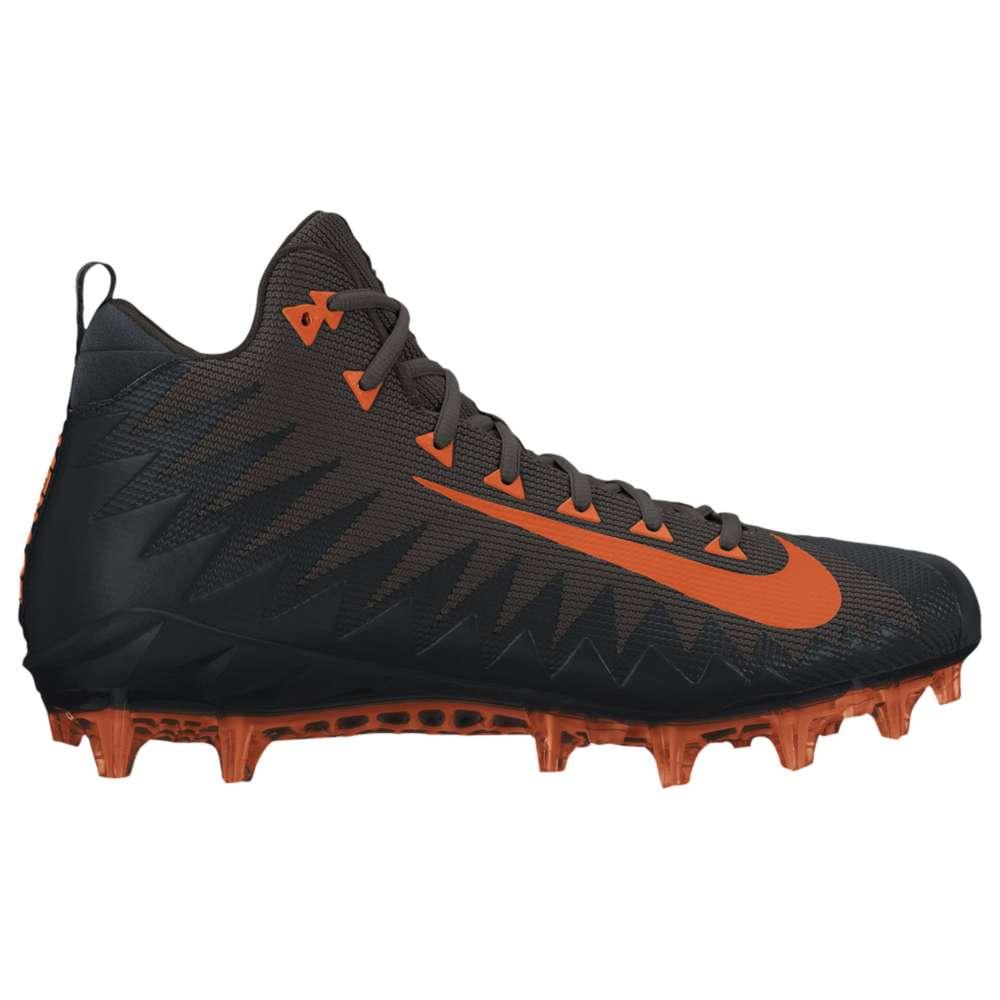 ナイキ メンズ サッカー シューズ・靴【Nike Alpha Menace Pro Mid】Seal Brown/Brilliant Orange/Black