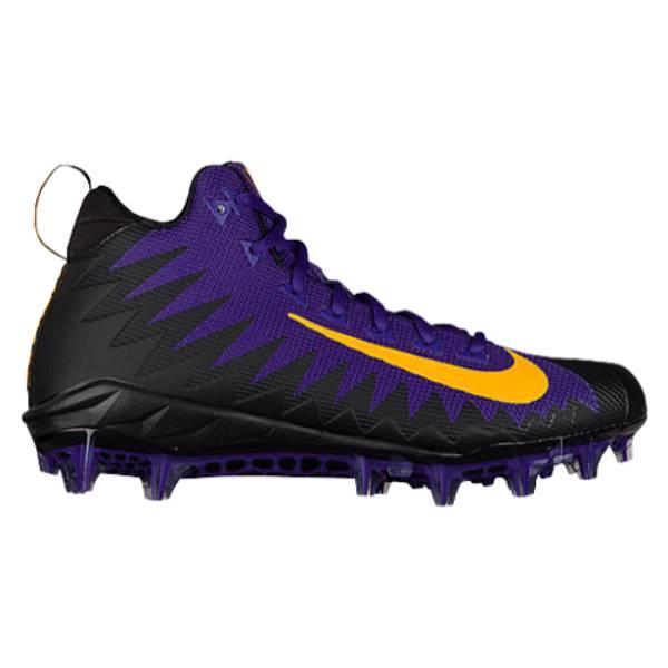 ナイキ メンズ サッカー シューズ・靴【Nike Alpha Menace Pro Mid】Court Purple/University Gold/Black