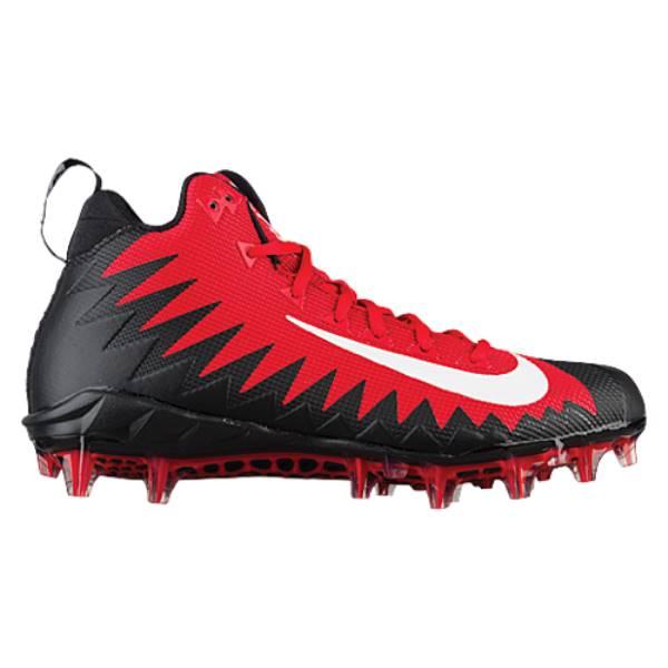 ナイキ メンズ サッカー シューズ・靴【Nike Alpha Menace Pro Mid】University Red/White/Black