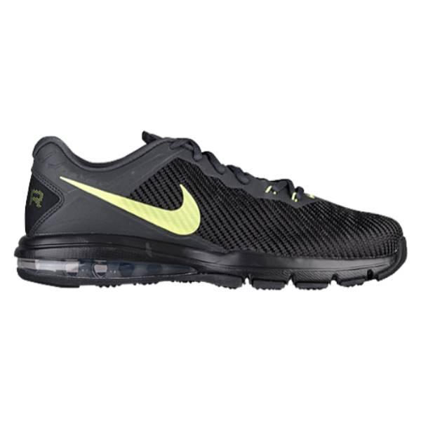 ナイキ メンズ フィットネス・トレーニング シューズ・靴【Nike Air Max Full Ride TR 1.5】Black/Volt
