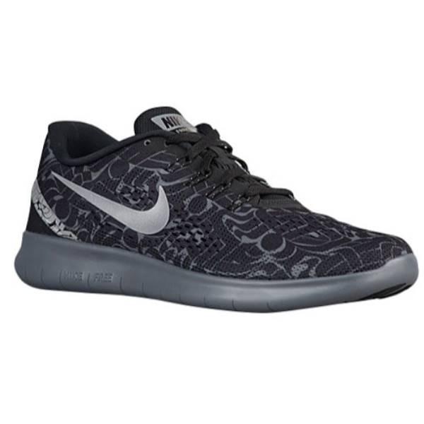 ナイキ メンズ ランニング・ウォーキング シューズ・靴【Nike Free RN】Black/Dark Grey/White/Reflective Silver