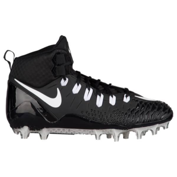 ナイキ メンズ アメリカンフットボール シューズ・靴【Nike Force Savage Pro】Black/White/Antharcite/Black