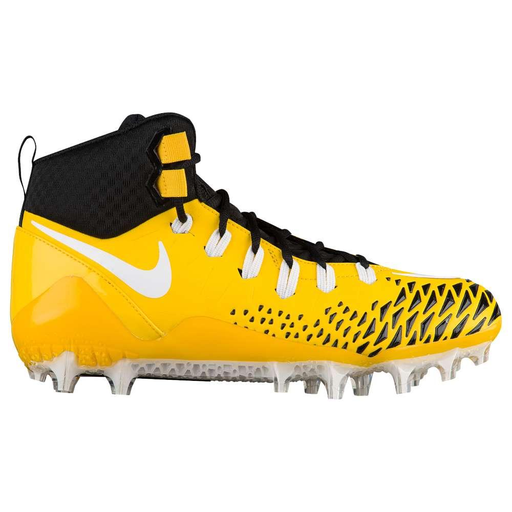 ナイキ メンズ アメリカンフットボール シューズ・靴【Nike Force Savage Pro】Tour Yellow/White/Black