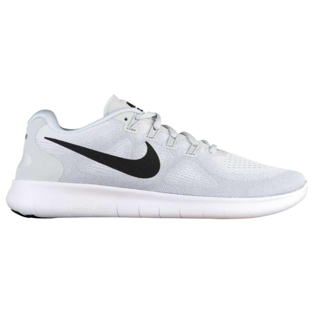 ナイキ メンズ ランニング・ウォーキング シューズ・靴【Nike Free RN 2017】White/Black/Pure Platinum
