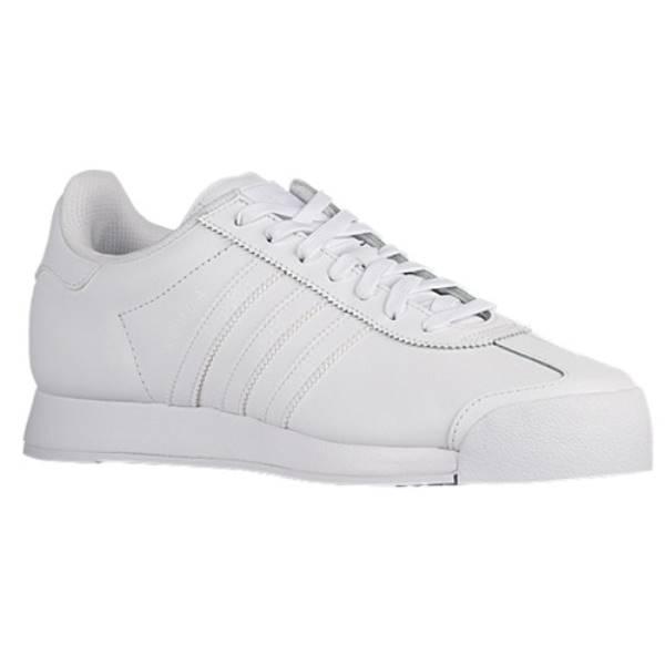 アディダス メンズ シューズ・靴 スニーカー【adidas Originals Samoa】White/White/Clear Grey