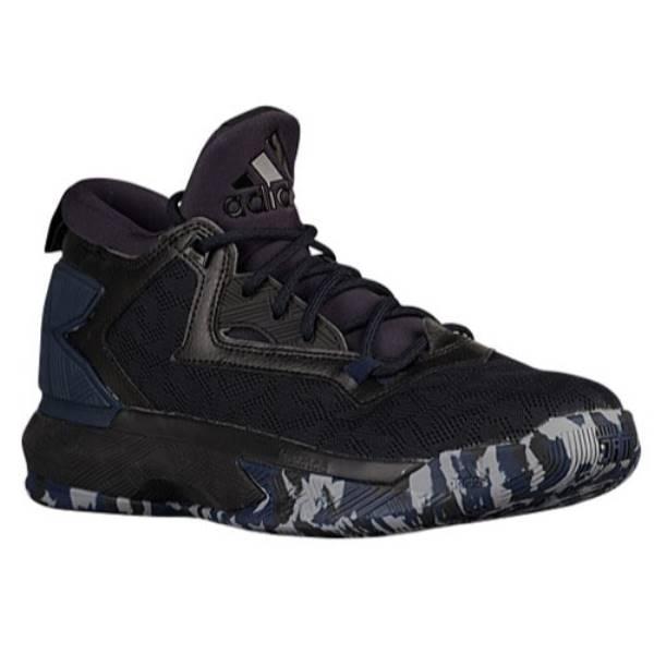 アディダス メンズ バスケットボール シューズ・靴【adidas D Lillard 2.0】Black/Collegiate Navy/White