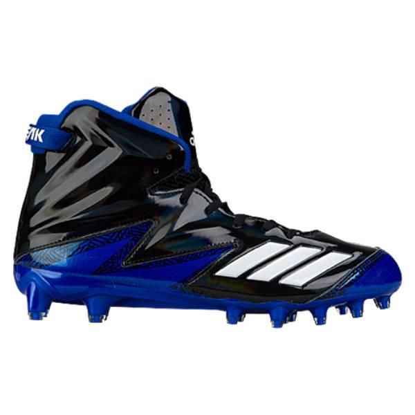 アディダス メンズ アメリカンフットボール シューズ・靴【adidas Freak x Carbon High】Black/White/College Royal