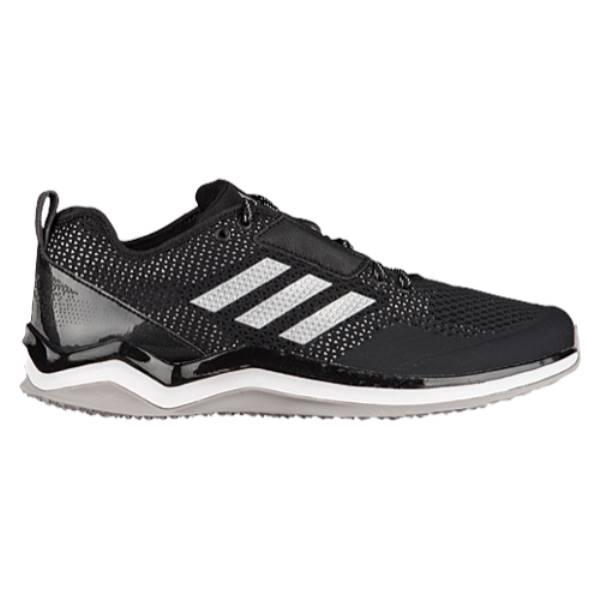 アディダス メンズ 野球 シューズ・靴【adidas Speed Trainer 3.0】Black/Metallic Silver/White