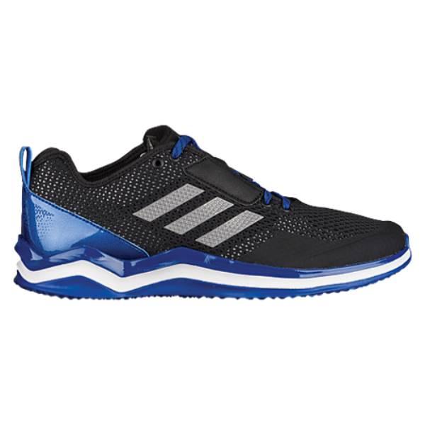 アディダス メンズ 野球 シューズ・靴【adidas Speed Trainer 3.0】Black/Iron Metallic/Collegiate Royal