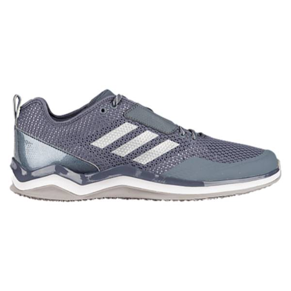 アディダス メンズ 野球 シューズ・靴【adidas Speed Trainer 3.0】Onix/Silver Metallic/White