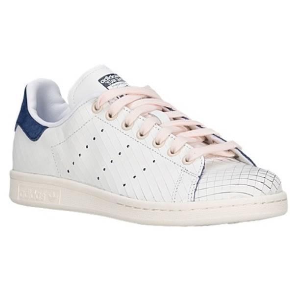 アディダス レディース シューズ・靴 スニーカー【adidas Originals Stan Smith】White/White/Collegiate Navy