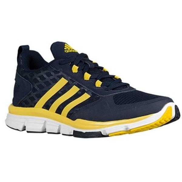 アディダス メンズ 野� シューズ・��adidas Speed Trainer 2】Collegiate Navy/Yellow/Tech Grey Metallic