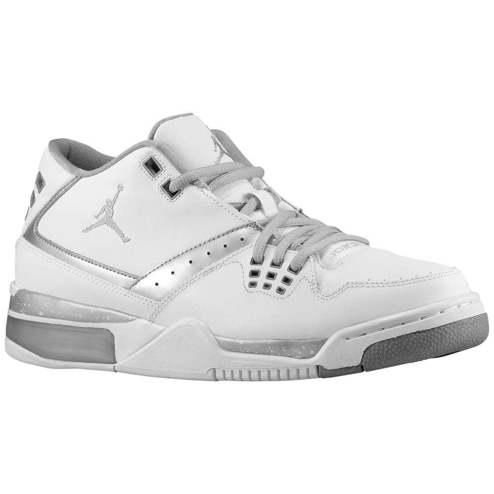 ナイキ ジョーダン メンズ シューズ・靴 スニーカー【Jordan Flight 23】White/Metallic Silver/Metallic Silver
