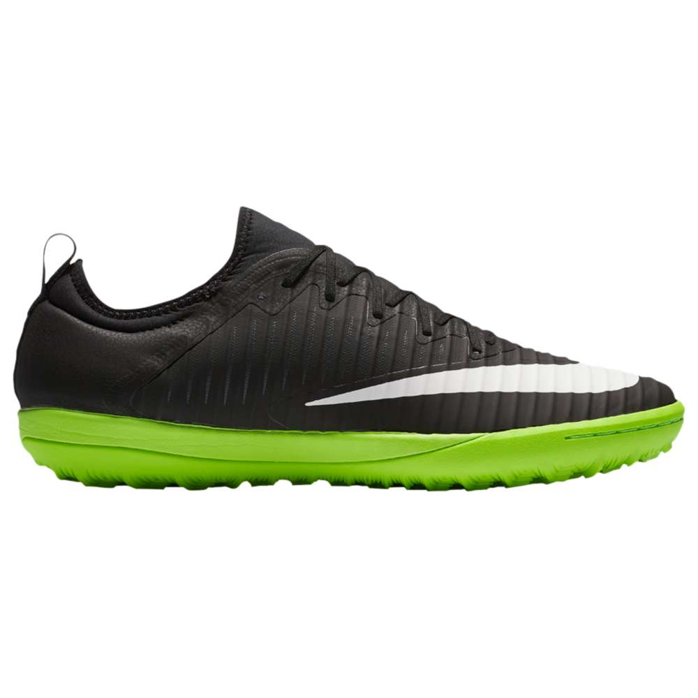 ナイキ メンズ サッカー シューズ・��Nike Mercurial X Finale II TF】Black/White/Electric Green