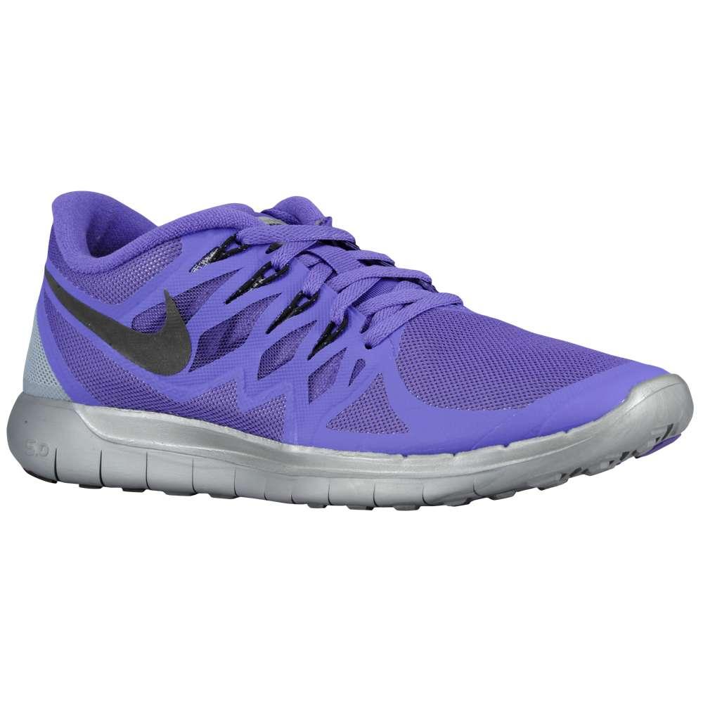 ナイキ レディース ランニング・ウォーキング シューズ・靴【Nike Free 5.0 2014 Flash】Hyper Grape/Reflective Silver/Wolf Grey/Black